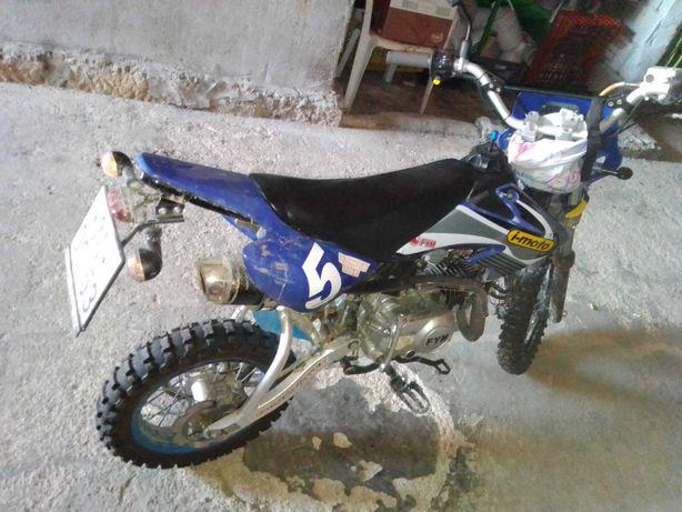 pitbike 125cc matriculada