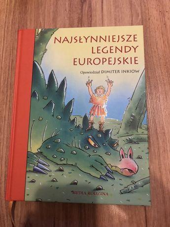 Książka Najsłynniejsze Legendy Europejskie