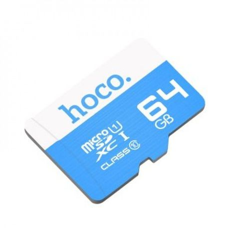Карта памяти MicroSD Hoco 64GB Class 10 Original Micro SD накопитель