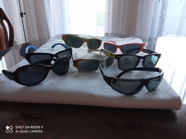 Okulary przeciwsłoneczne dla dzieci stan bdb