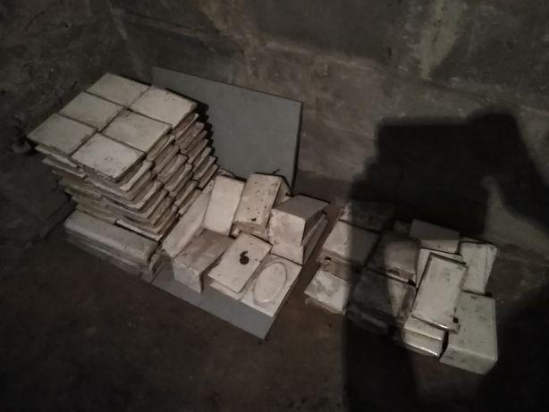 Kafle kafelki z pieca