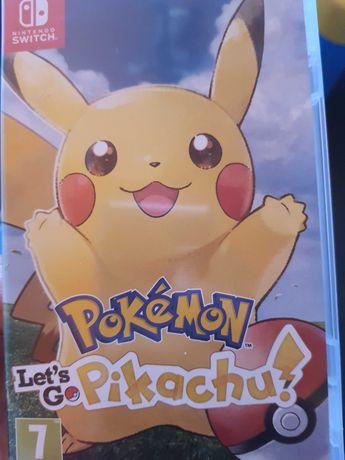 Jogo Pokemon pikachu nintendo switch novo