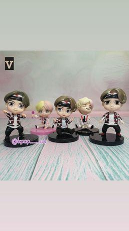 Фигурки BTS со всеми участниками