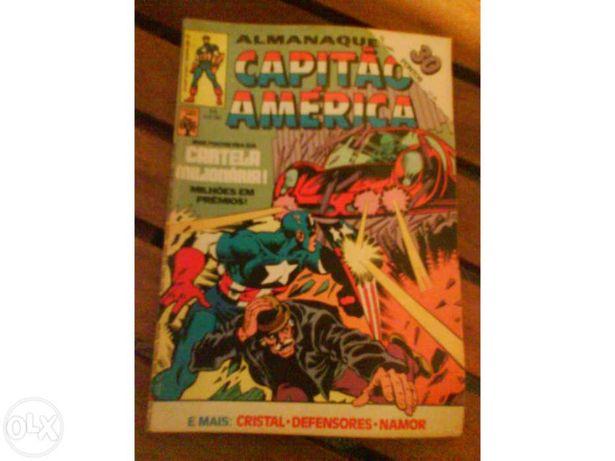 4 Revistas Capitão América