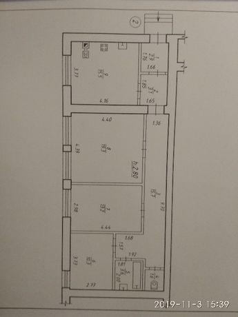 3-кімнатна квартира з окремим входом та господарським подвірям