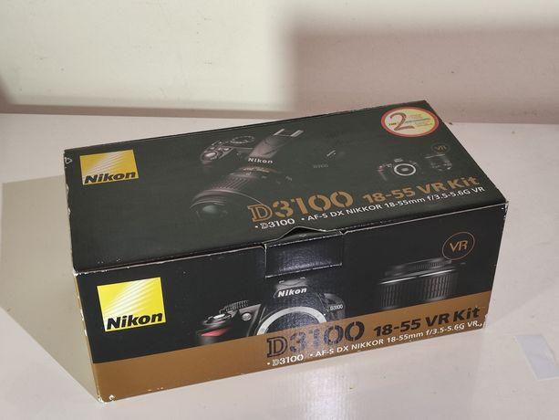 Nikon d3100 ##SÒ CAIXA##
