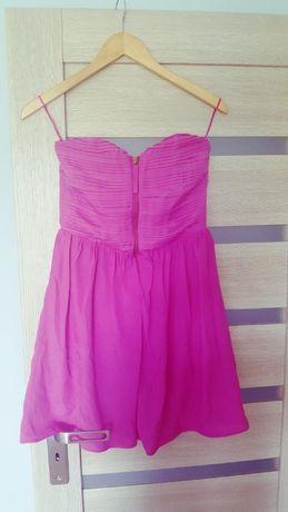 Śliczna różowa sukienka AMISU 34