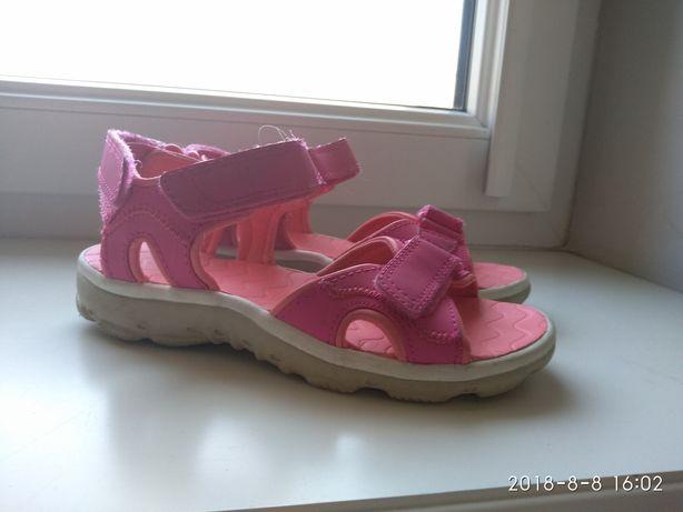 Sandałki różowe 31