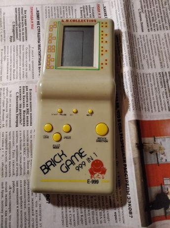 Тетрис E 999 детская игрушка винтаж