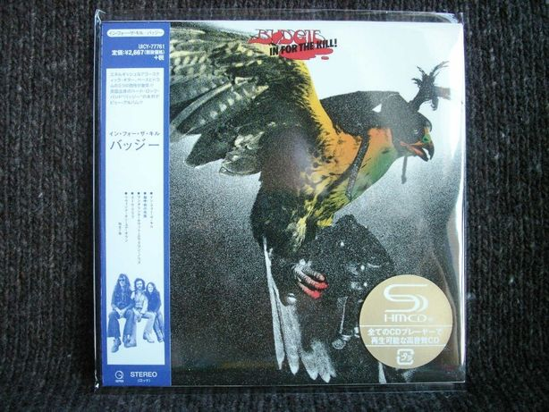 BUDGIE In For The Kill - Cardboard Sleeve SHM CD Japan