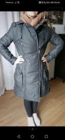Zimowa puchowa kurtka Mango rozmiar L