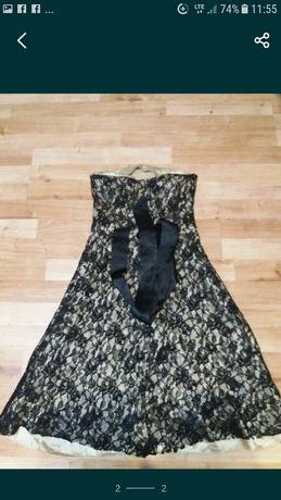 (41) sukienka bez ramiączek 34