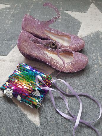 Pantofle dla księżniczki roz.29