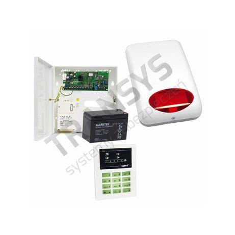 Alarm Satel CA5 LED zestaw alarmu do 5 czujek garaż magazyn firma skle