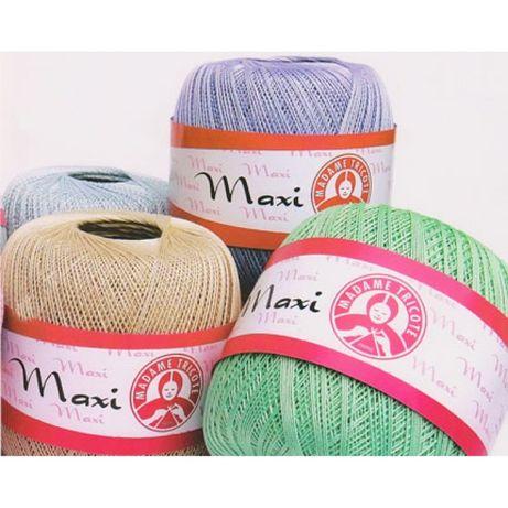 Пряжа для вязания Madame Tricote Maxi
