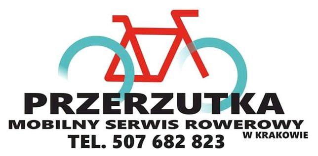 Mobilny serwis rowerowy PRZERZUTKA naprawa rowerów