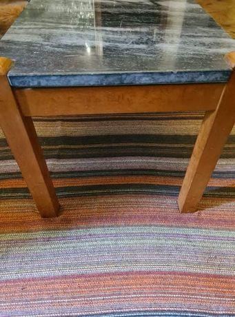 Móvel sala. Mesa  + 6 cadeiras e mesa centro com tampo mármore