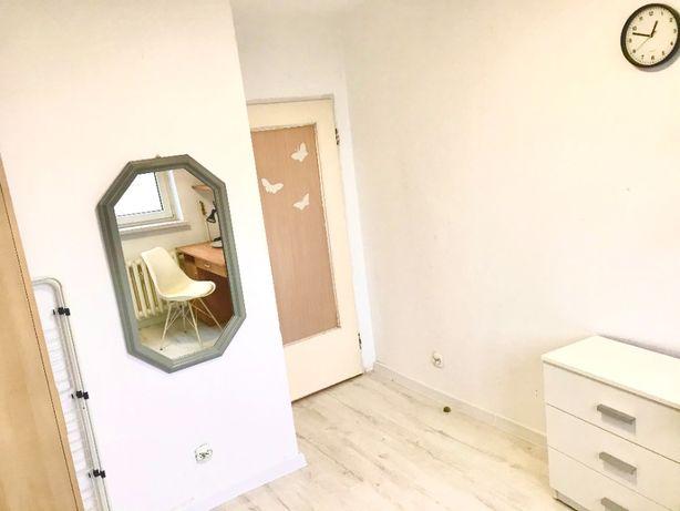 Pokój w dwupokojowym mieszkaniu. Ogrzewanie miejskie w cenie.