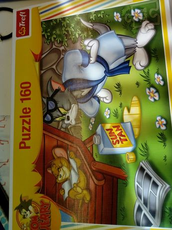 Puzzle Trefl Tom i Jerry 160szt