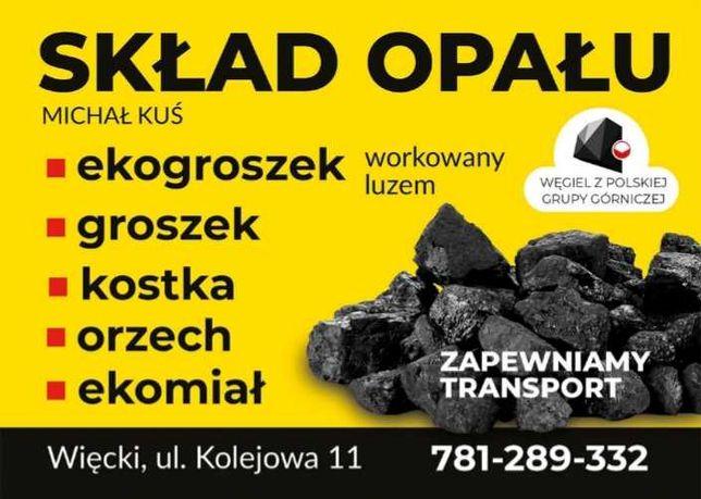 Ekogroszek,Węgiel, Skład Opału