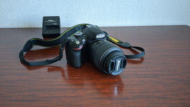 Продам Nikon D3200, 18-55 мм, практически не бывший в использовании