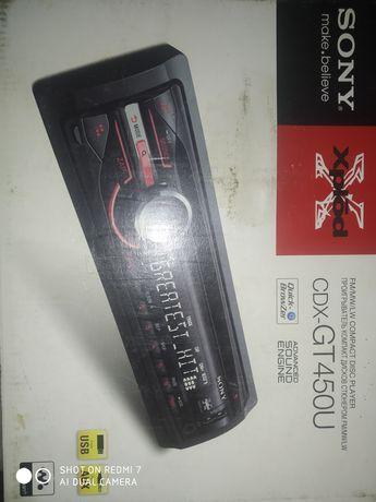 Автомагнитола SONI CDX-GT450U