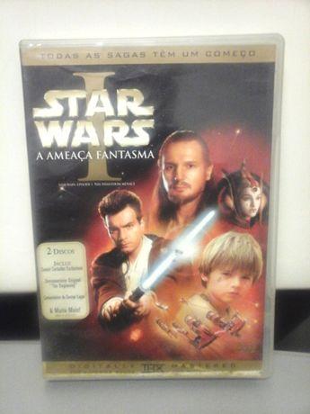 2 DVDs Star Wars I: A Ameaça Fantasma - Ed. Especial ENTREGA IMEDIATA