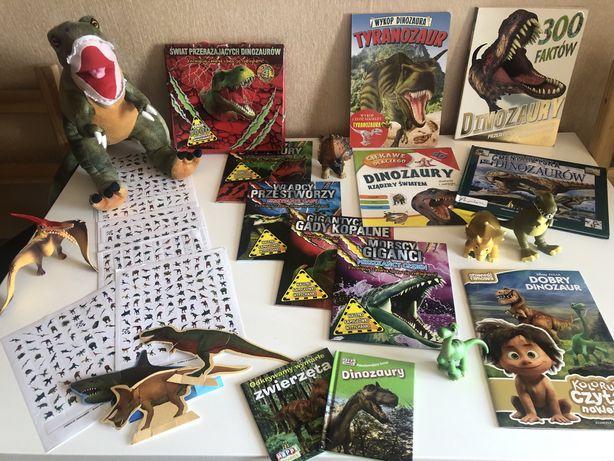 Zestaw dla malego fana dinozaurów :)