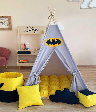 Детский вигвам палатка, домик. Только натуральные материалы.