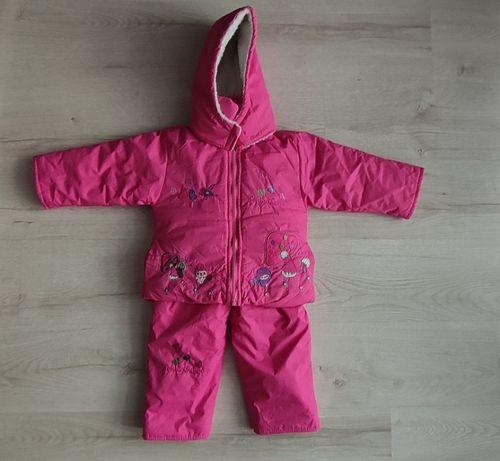 Kombinezon dziecięcy zimowy dwuczęściowy r.80-86
