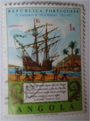 Znaczki pocztowe (skasowane) STATKI RAJD DROGOWY - Angola, Tunezja