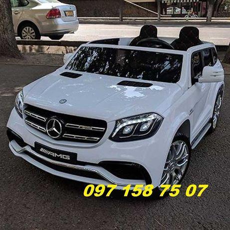 Детский электромобиль Mercedes-Benz GLS-63 AMG (  M 3565) двухместный