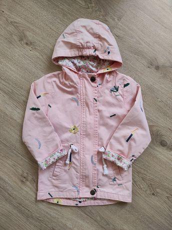 Куртка ветровка хлопок для девочки 3-4 года