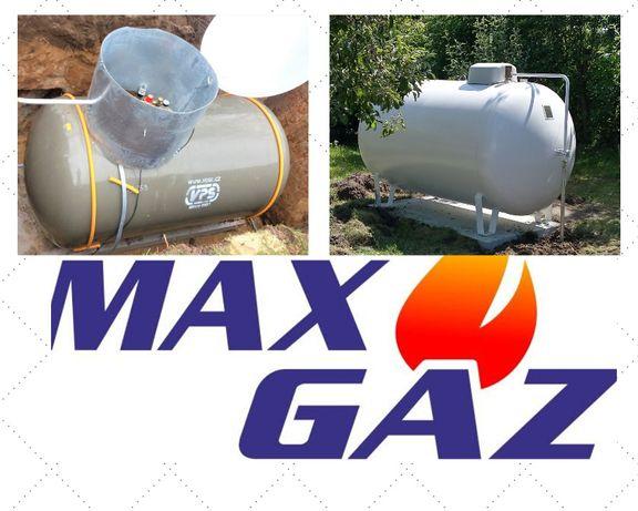 ZBIORNIK NA GAZ płynny propan, butla lpg na własność 2700