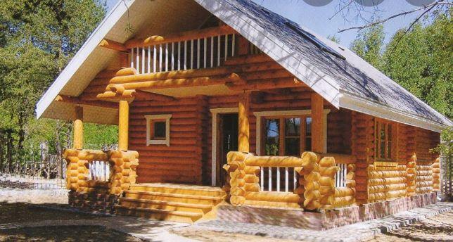 Шліфовка будівництво  дерев'яних будинків зруб бань сруб 120$ м2