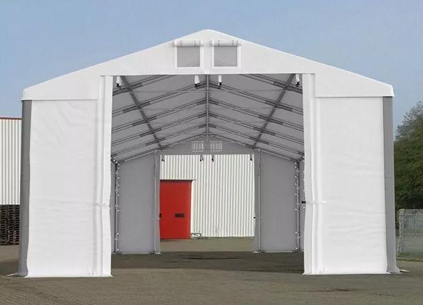 -34% 4x6m NAMIOT Przemysłowy magazyn halowy Garażowy lakierniczy PVC