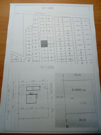 Земельна ділянка з фундаментом м. Корець 10 сотих