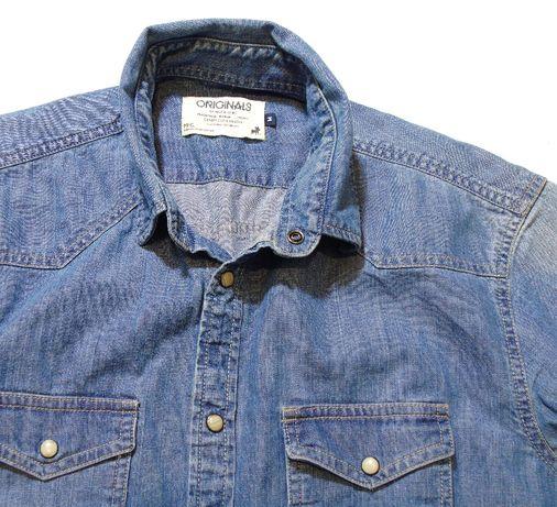JACK&JONES koszula meska jeans M/L