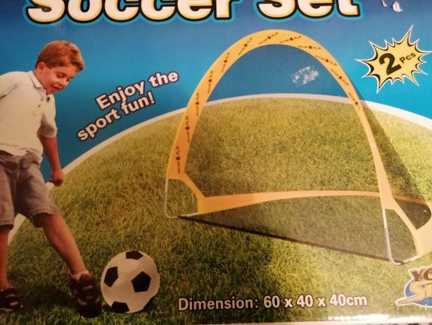 Nowy zestaw do piłki nożnej