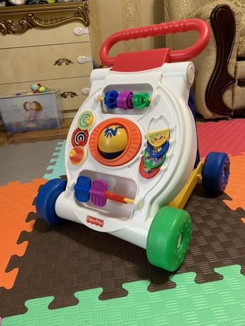 Ходунки-каталка Fisher price