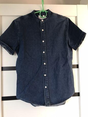 Рубашка джинсова topman (не  zara)