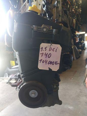 Motor 1.5 dci k9k740 com 104000 km