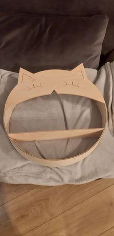 Półka kotek ze sklejki