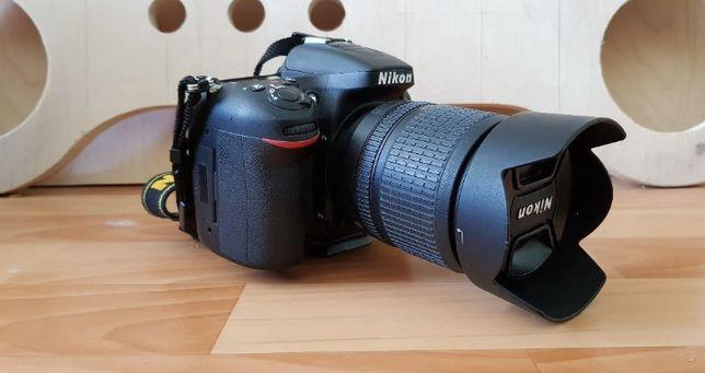 Зеркальный фотоаппарат Nikon D7100 kit 18-105