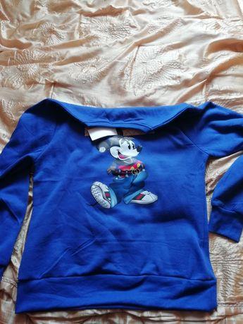 Nowa bluza lekko ocieplana XL
