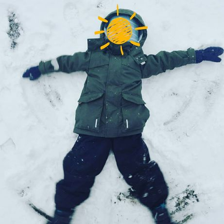 Парка термо куртка reima next зимняя 110 см lenne