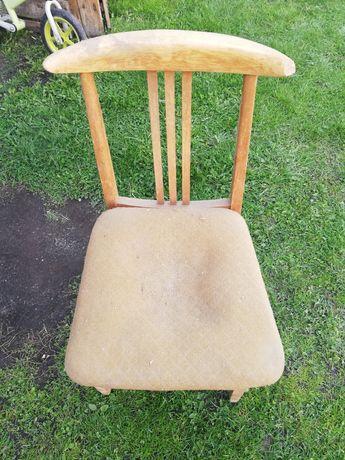 Krzesło stare ee prl