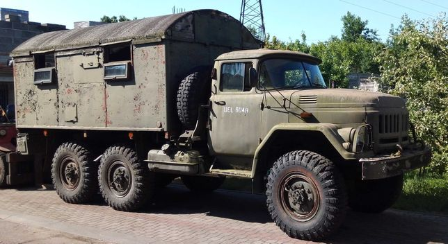 Samochód ZIŁ-131 z wojska