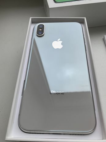 iPhone X (10) 64 Gb Neverlock Белый original