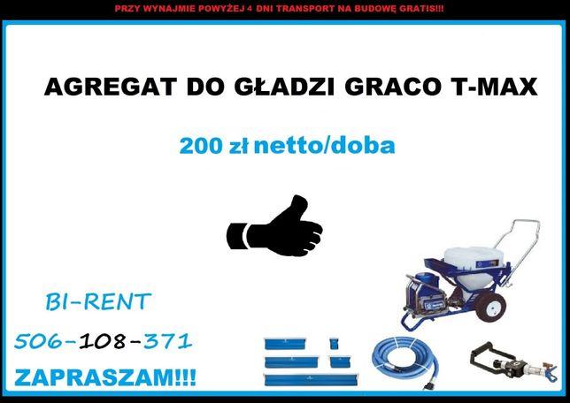 Wynajem Graco T-max 506 Łódź Pabianice Koło Zgierz Łowicz Bełchatów